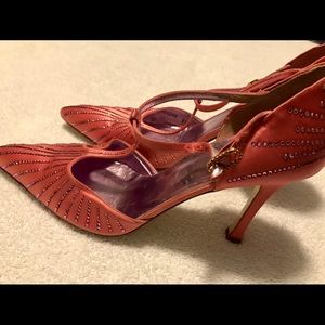 Almost Brand New - Super Gorgeous  Heels By DELMAN